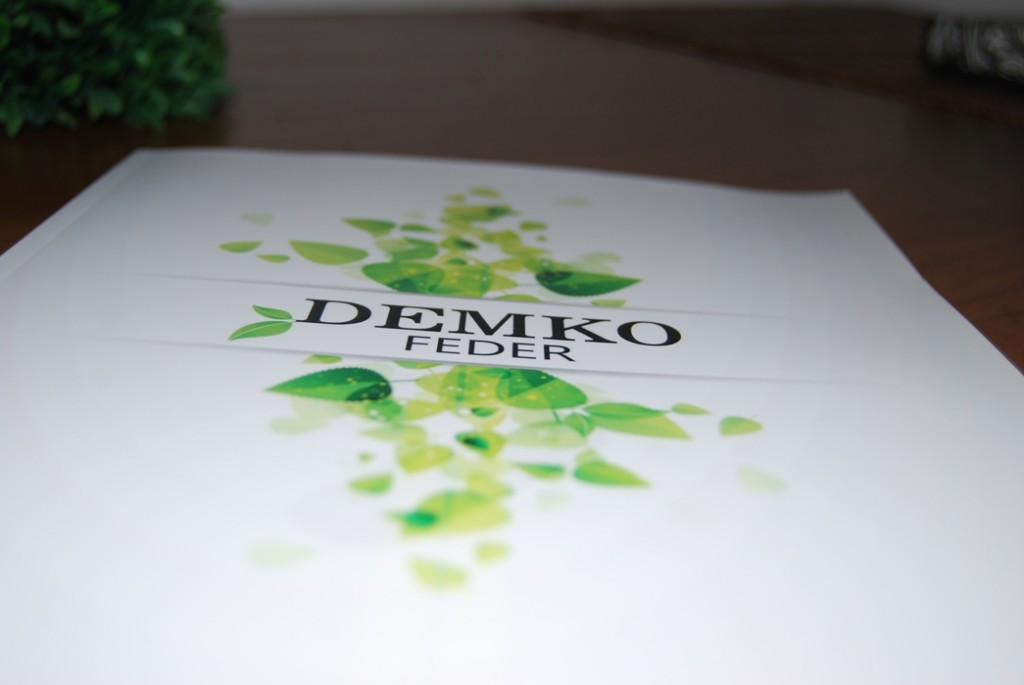 Demko Feder, 3D UV Lack