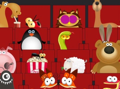 """In the theater"" HTML5 – Animation"