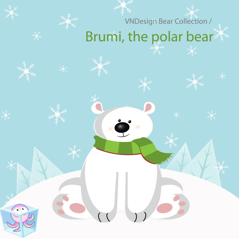 Brumi Polar Bear